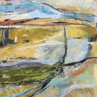 Abstract Early Morning Landscape