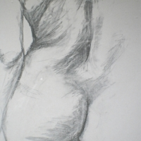 Nude in Charcoal 3